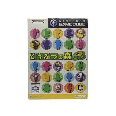 Jogo Doubutsu No Mori e+ - GameCube (Japonês)