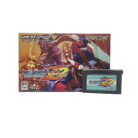 Jogo RockMan Zero 2 - GBA (Japonês)