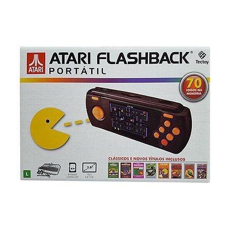 Console Atari Flashback Portátil com 70 jogos - TecToy