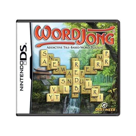 Jogo WordJong - DS