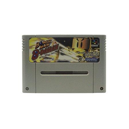 Jogo Bomberman B-Daman - SNES (Japonês)