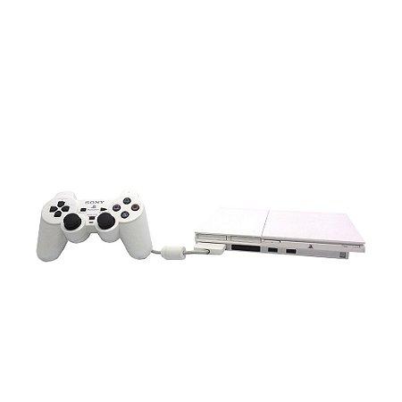 Console Playstation 2 Branco - Sony
