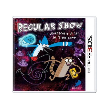 Jogo Regular Show: Mordecai and Rigby in 8-Bit Land - 3DS