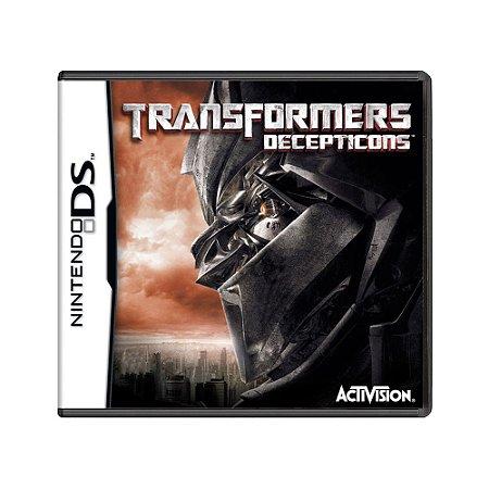 Jogo Transformers: Decepticons - DS
