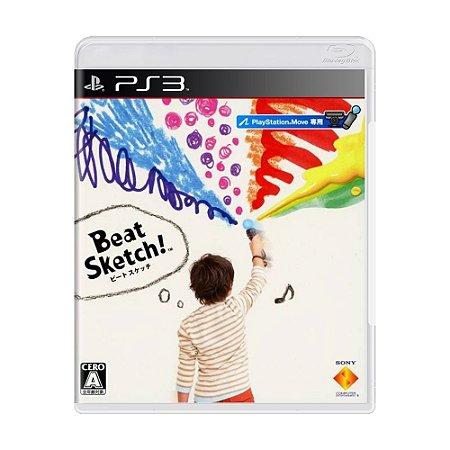 Jogo Beat Sketch! - PS3 (Japonês)
