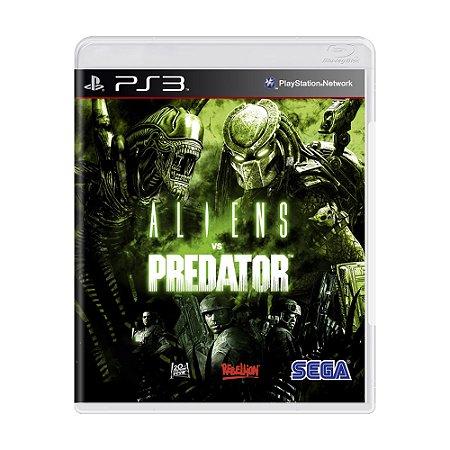 Jogo Aliens vs. Predator - PS3