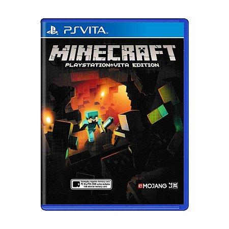 Jogo Minecraft: Playstation Vita Edition - PS Vita