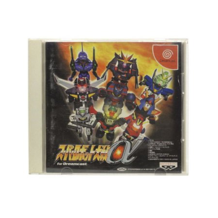 Jogo Super Robot Wars Alpha - DreamCast (Japonês)