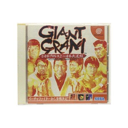 Jogo Giant Gram: All Japan ProWrestling 2 - DreamCast (Japonês)