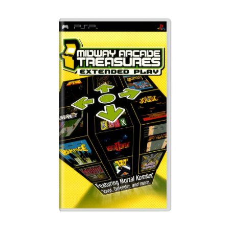 Jogo Midway Arcade Treasures: Extended Play - PSP