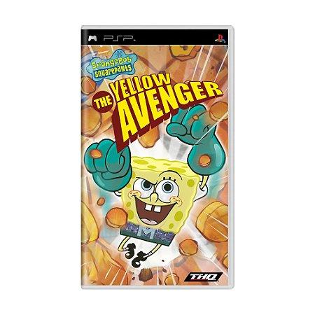 Jogo SpongeBob SquarePants: The Yellow Avenger - PSP