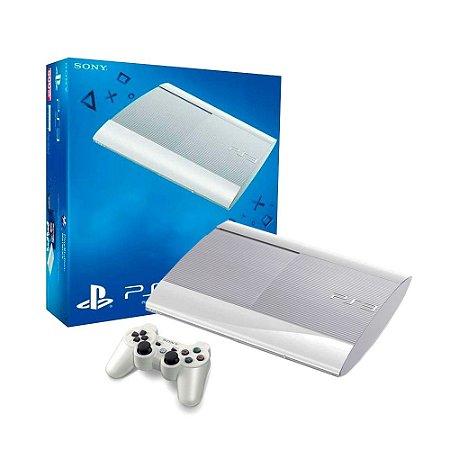 Console PlayStation 3 Super Slim 500GB Branco - Sony