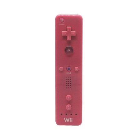 Controle Paralelo Wii Remote Rosa - Wii