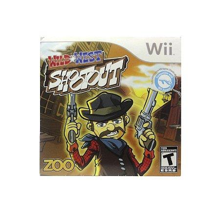 Jogo Wild West Shootout (Capa Dura) - Wii