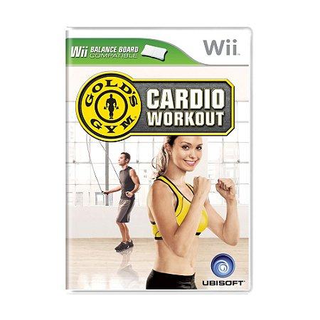 Jogo Gold's Gym: Cardio Workout - Wii