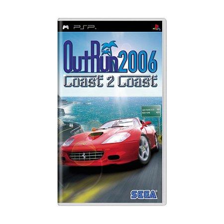Jogo OutRun 2006: Coast 2 Coast - PSP