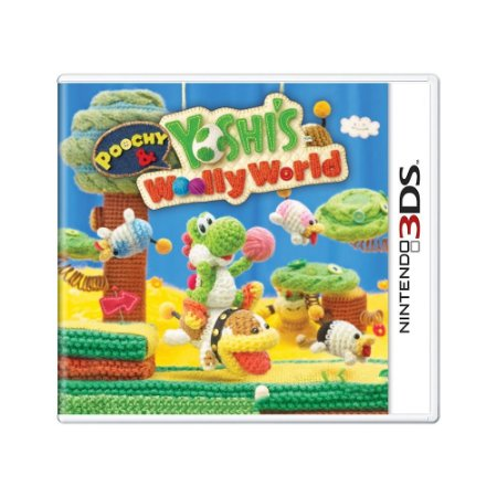 Jogo Poochy e Yoshi's Woolly World - 3DS