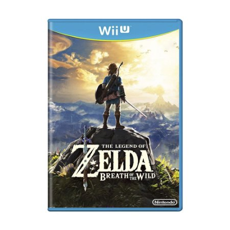Jogo The Legend of Zelda: Breath of the Wild - Wii U