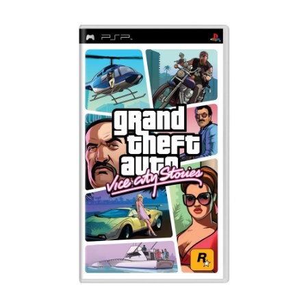 Jogo Grand Theft Auto: Vice City Stories - PSP