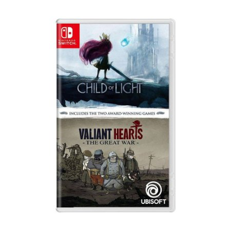 Jogo Child of Light + Valiant Hearts: The Great War - Switch