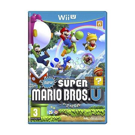 Jogo New Super Mario Bros. U - Wii U (Europeu)
