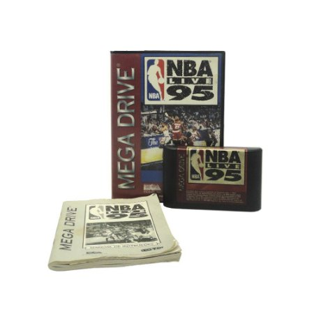 Jogo NBA Live 95 - Mega Drive