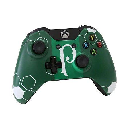 Controle Microsoft Edição Especial Palmeiras 102 anos Sem fio - Xbox One