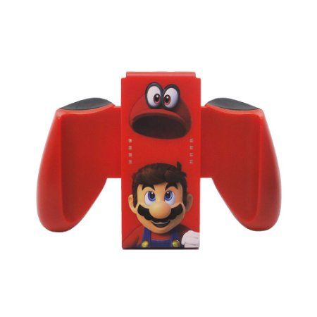 Joy-Con Confort Grip PowerA (Super Mario Odyssey) - Switch