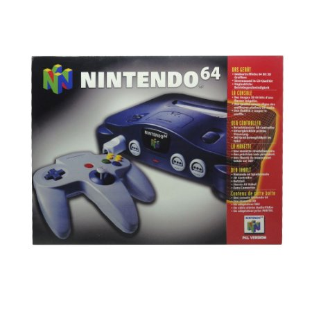 Caixa Personalizada para Nintendo 64
