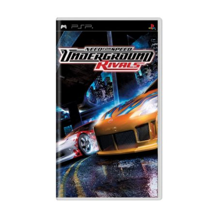 Jogo Need For Speed: Underground - Rivals - PSP