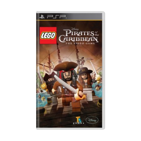 Jogo LEGO Pirates of The Caribbean: The Video Game - PSP