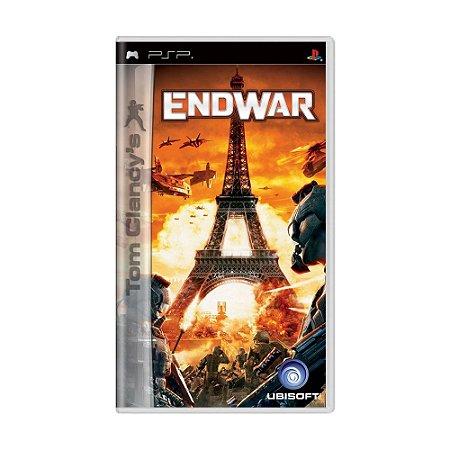 Jogo Tom Clancy's EndWar - PSP