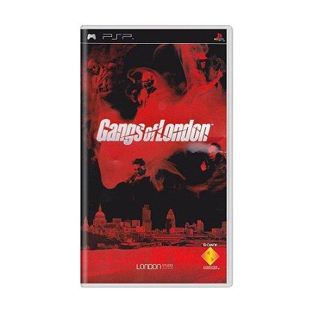 Jogo Gangs of London - PSP