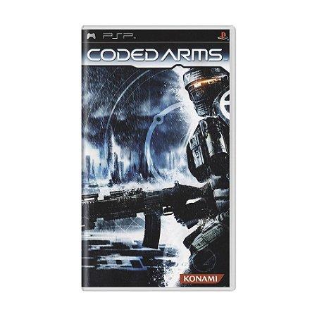 Jogo Coded Arms - PSP
