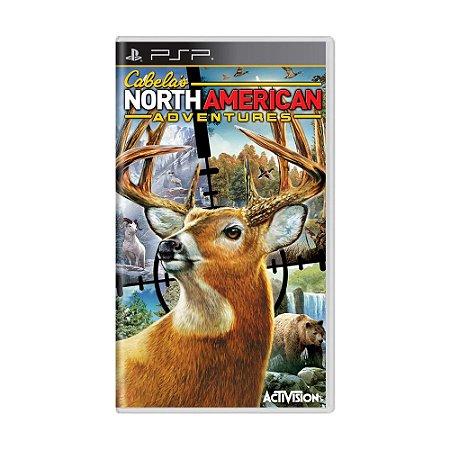 Jogo Cabela's North American Adventures - PSP
