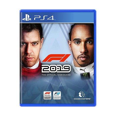Jogo F1 2019 - PS4