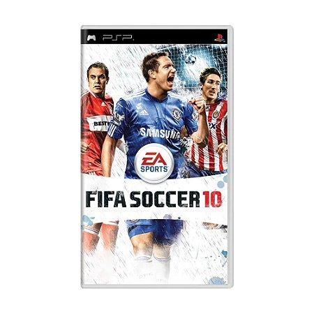 Jogo FIFA Soccer 10 - PSP