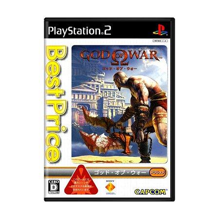 Jogo God of War - PS2 (Japonês)