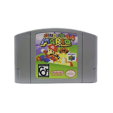 Jogo Super Mario 64 - N64 (Relabel)