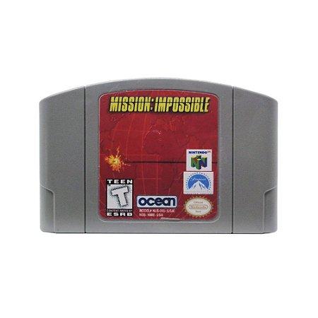 Jogo Mission: Impossible - N64 (Relabel)
