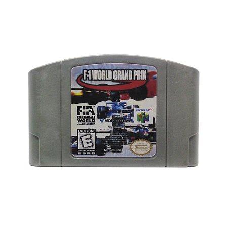 Jogo F-1 World Grand Prix - N64 (Relabel)