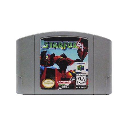 Jogo Star Fox 64 - N64 (Relabel)