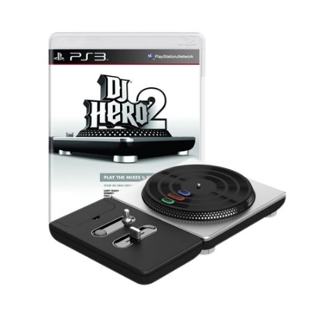 Jogo DJ Hero 2 + Turntable - PS3