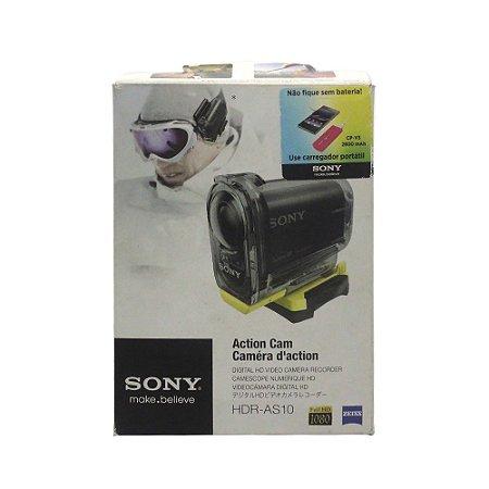 Câmera Filmadora Action Cam HDR-AS10 - Sony