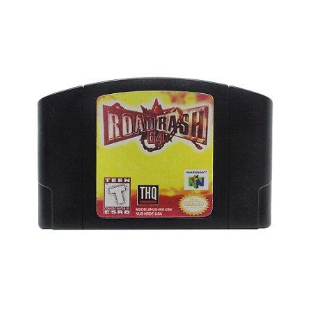 Jogo Road Rash 64 - N64 (Relabel)