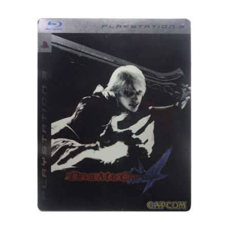 Jogo Devil May Cry 4 (SteelCase) - PS3