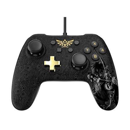 Controle PowerA com fio (Zelda: Breath of the Wild Edition) - Switch