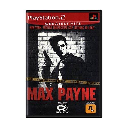 Jogo Max Payne - PS2