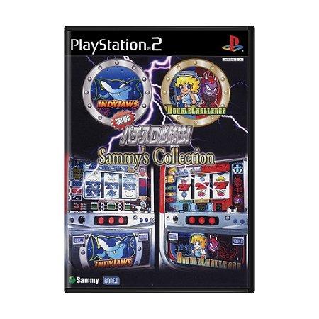 Jogo Jissen Pachi-Slot Hisshouhou! Sammy's Collection - PS2 (Japonês)