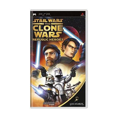 Jogo Star Wars The Clone Wars: Republic Heroes - PSP